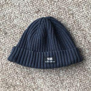 """Beanie """"Vans"""" blue, gray skull cap hat"""